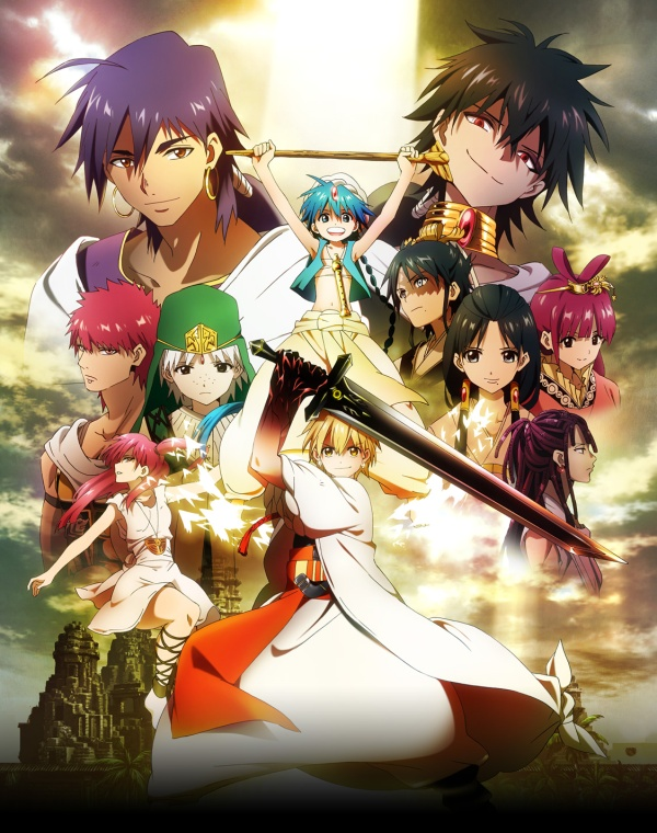 Magi personnages