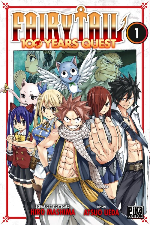 Fairy Tail 100 years quest tome 1 vf