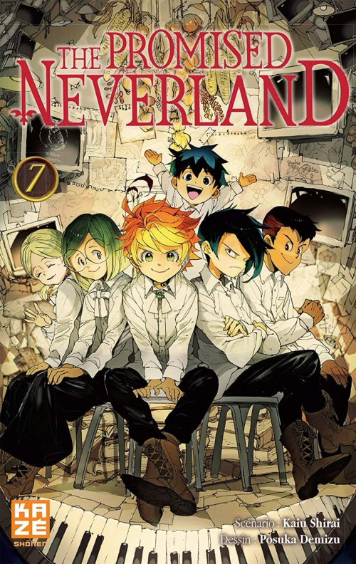 The Promised Neverland 7 vf