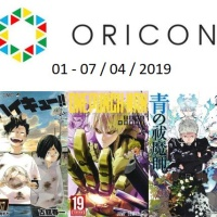Top Oricon du 1er au 7 avril 2019