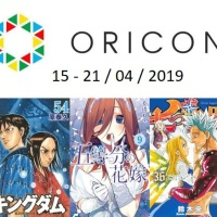 Top Oricon du 15 au 21 avril 2019