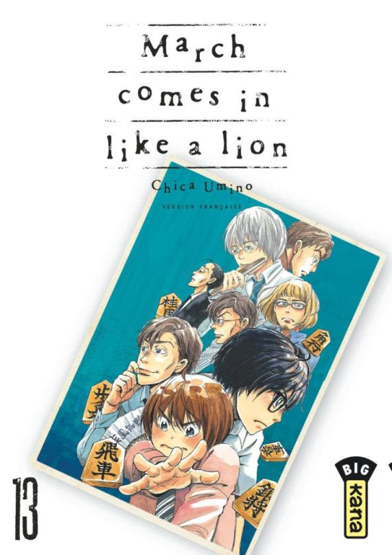 March comes in like a lion #13