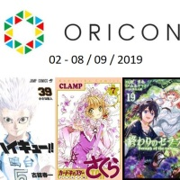 Top Oricon du 2 au 8 septembre 2019