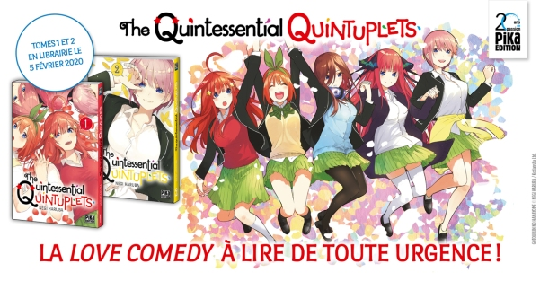 The Quintessential Quintuplets annonce Pika
