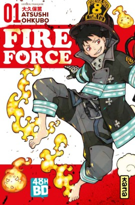 Fire Force 1 vf 48h BD