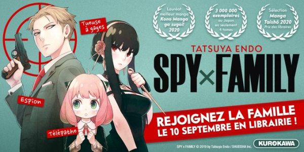 Spy x Family annonce France