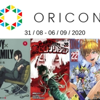 Top Oricon du 31 août au 6 septembre 2020